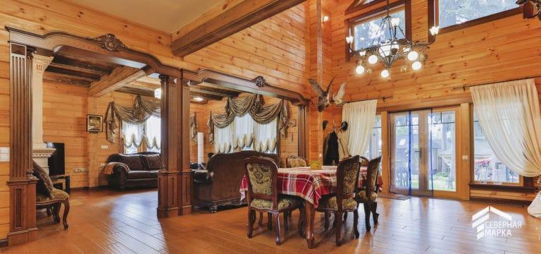Строительство домов под ключ в традиционном стиле