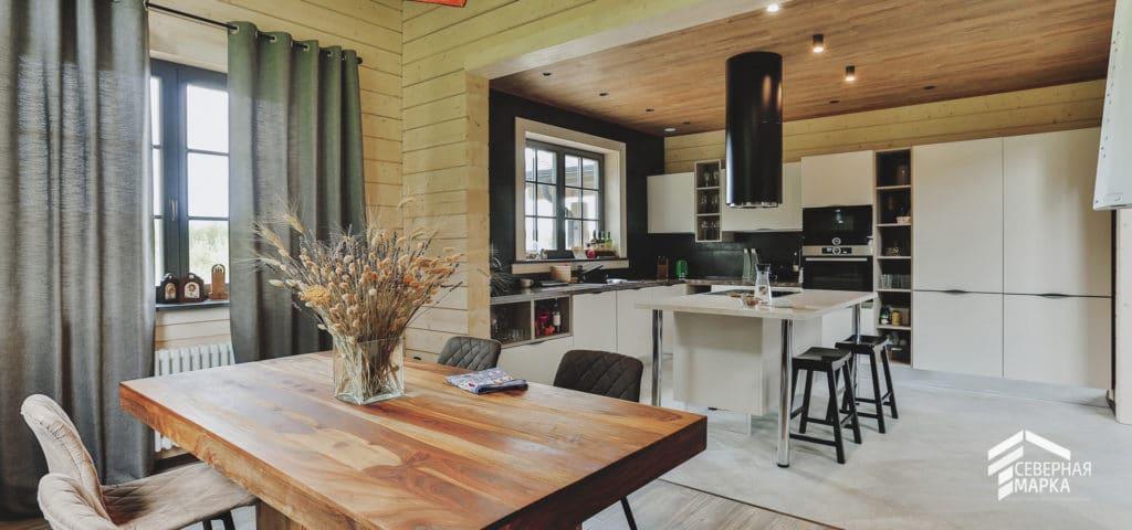 Строительство загородных домов под ключ - интерьер