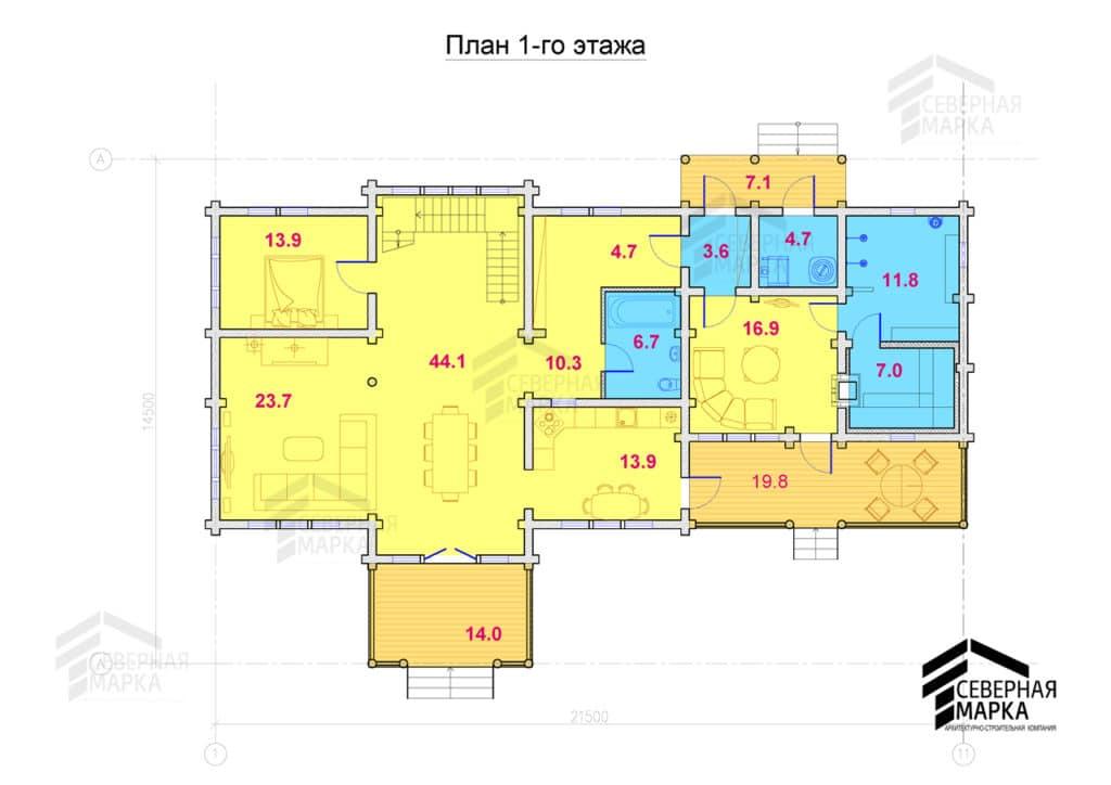 Удальцово ДК-264 - 1й этаж
