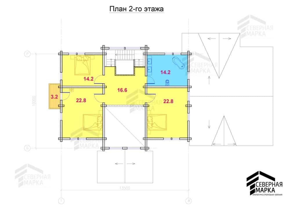 Удальцово ДК-264 - 2й этаж