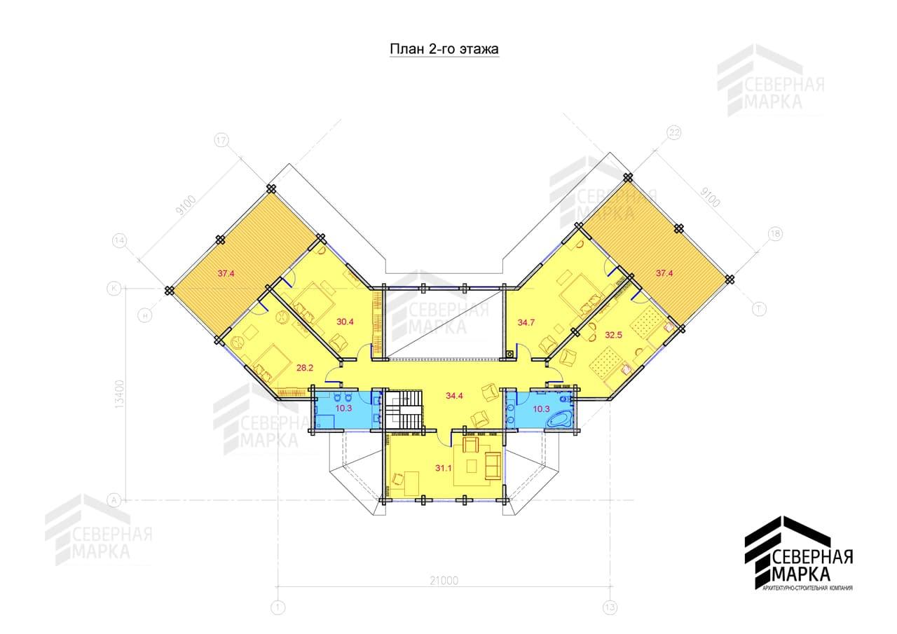 Флагман ДК-670 - 2й этаж