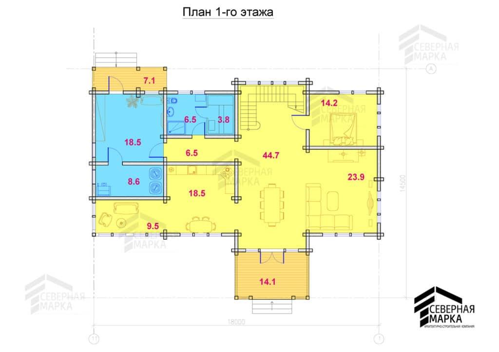 Форпост ДК-249 - 1й этаж